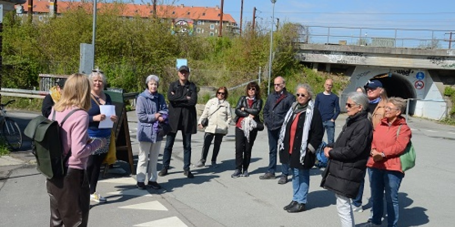 Jernbanebyen - DSB's gamle godsbanegård bliver til ny bydel - absolut spændende rundtur
