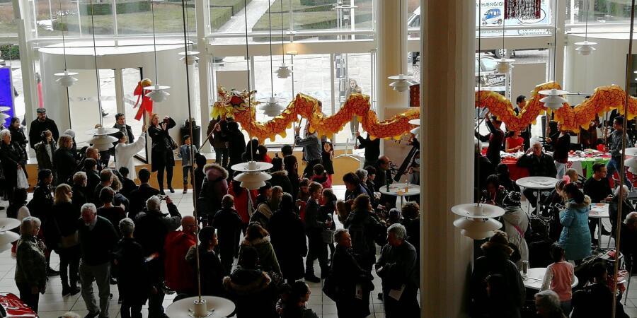 Kinesisk nytår, Musikhuset i Aarhus